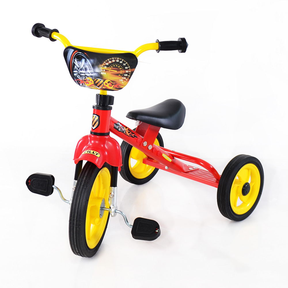 Велосипед TILLY COMBI TRIKE BT-CT-0009 RED вид спереди