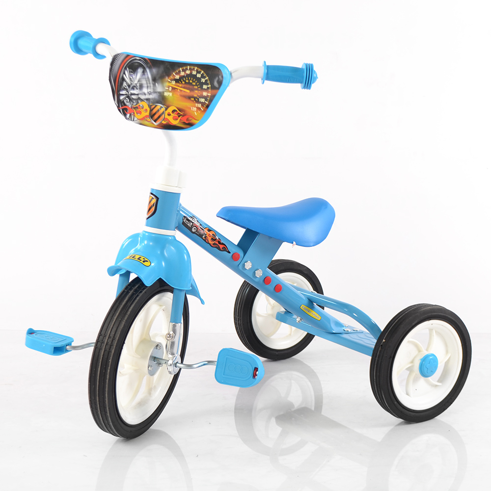 Велосипед TILLY COMBI TRIKE BT-CT-0009 BLUE вид спереди